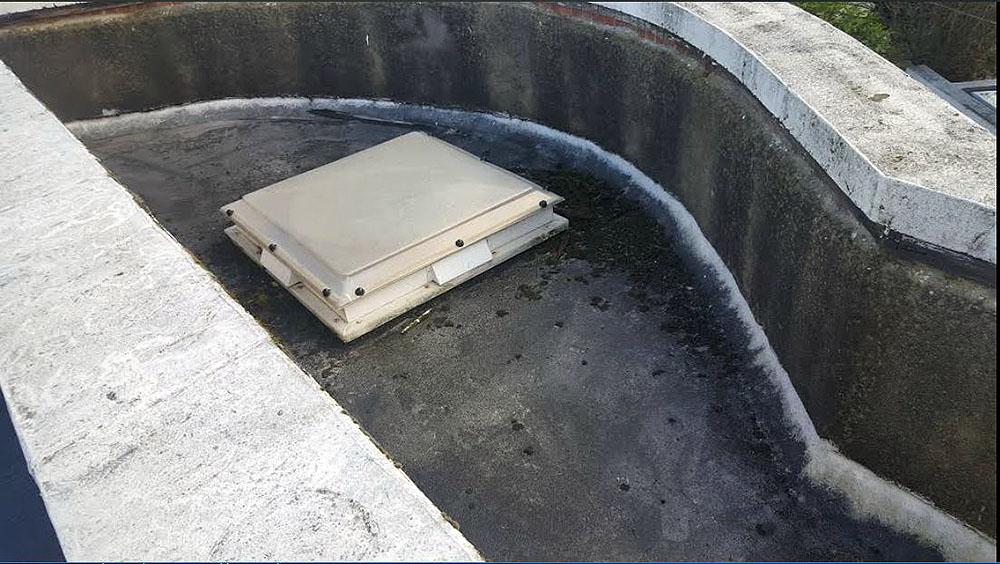 Asphalt roof and window leaking