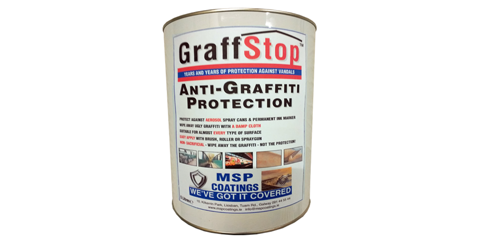 MSP Coatings GraffStop - Roofing and Structural Protection