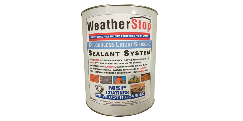 MSP Coatings WeatherStop - Roofing and Structural Protection